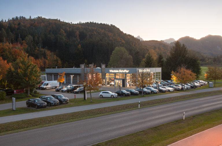 Terminvereinbarung für den Standort Füssen